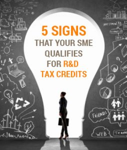 5 signs your company qualifies for R&D tax credits