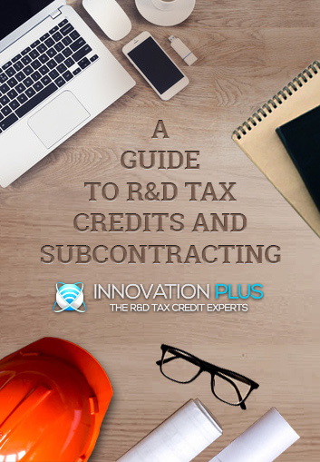R&D tax credits and subcontracting