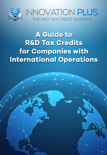 R&D tax credits for International Operations