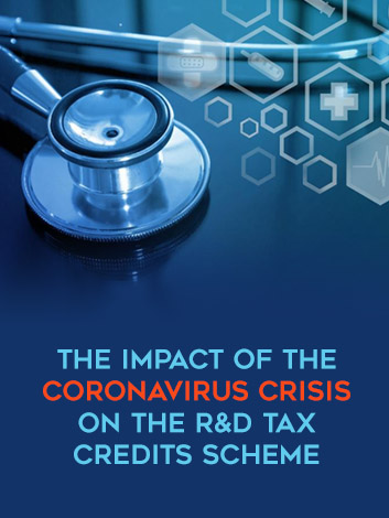 The coronavirus and its impact on the R&D Tax Credits scheme